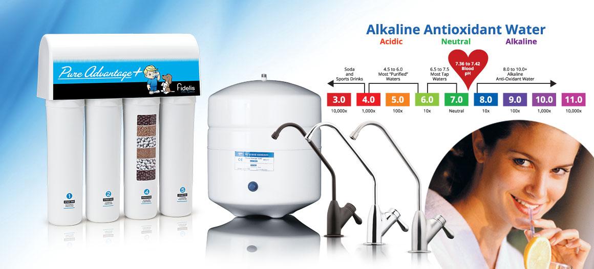 Reverse Osmosis Plus Alkaline Antioxidant